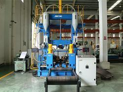 3-in-1 H Beam Assembly Welding Straightening Line